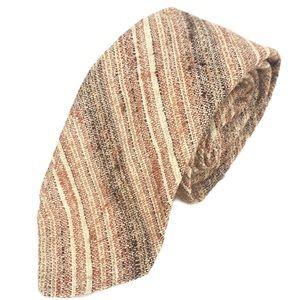 Givenchy Silk Cotton Striped Neck Tie